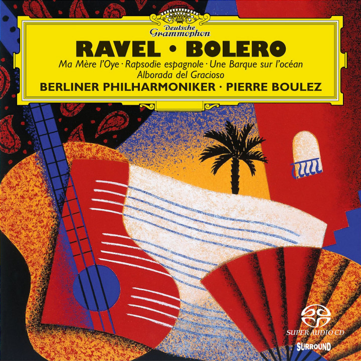 Ravel: Ma Mère L'Oye; Boléro etc. 0028943985921