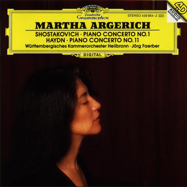 Shostakovich: Piano Concerto No.1 / Haydn: Piano Concerto No.11 0028943986427