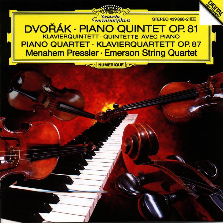 Klavierquintett A-dur op.81; Klavierquartett Nr. 2 Es-dur op. 87 0028943986829