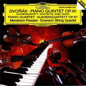 Antonín Dvorák, Klavierquintett A-dur op.81, Klavierquartett Nr. 2 Es-dur op. 87, 00028943986823