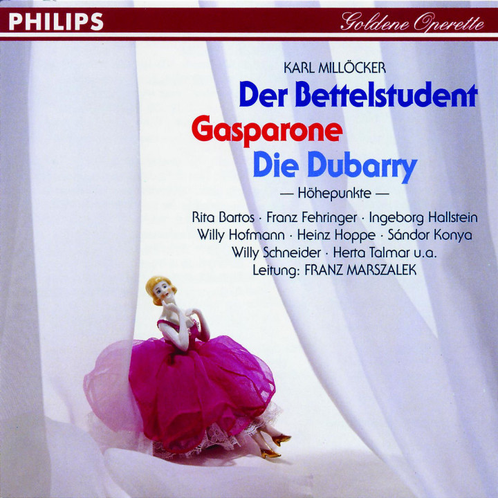 Der Bettelstudent; Gasparone; Die Dubarry 0028943965729