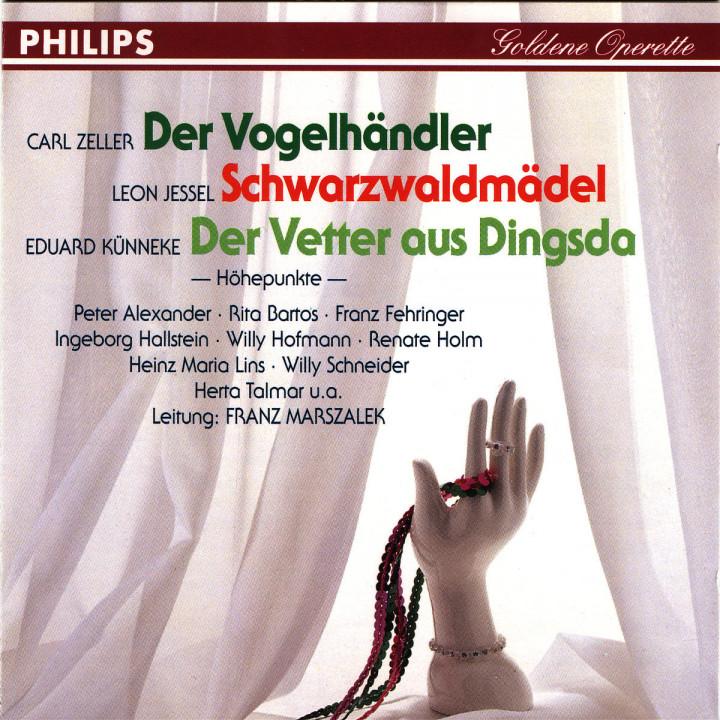 Der Vogelhändler; Schwarzwaldmädel; Der Vetter aus Dingsda 0028943966029