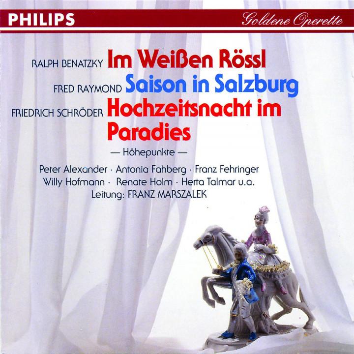 Im Weißen Rössl; Saison in Salzburg; Hochzeitsnacht im Paradies 0028943966225