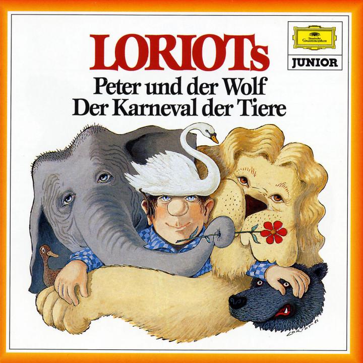Loriot: Peter und der Wolf - Karneval der Tiere 0028943964821