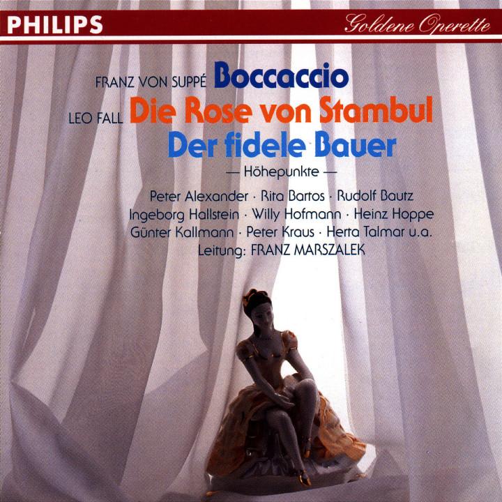 Boccaccio; Die Rose von Stambul; Der fidele Bauer 0028943965420