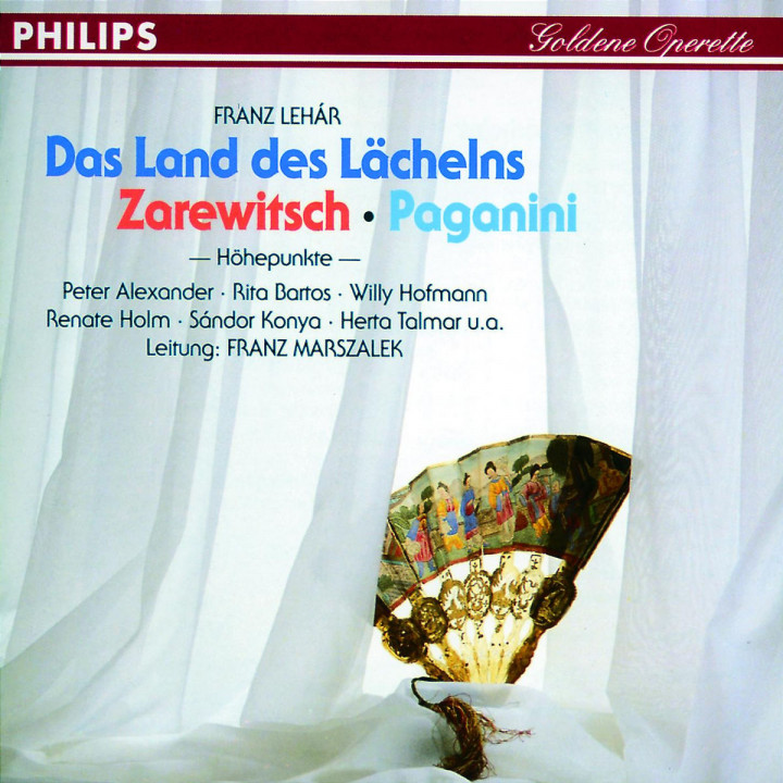 Das Land des Lächelns; Der Zarewitsch; Paganini 0028943965523