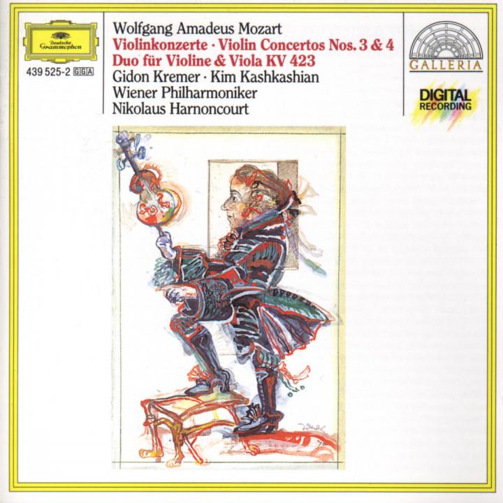 Violinkonzerte Nr. 3 G-dur & Nr. 4 D-dur; Duo KV 423 0028943952527