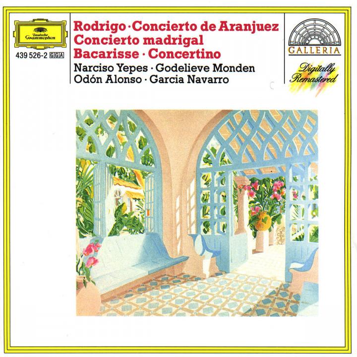 Rodrigo: Concierto de Aranjuez; Concierto madrigal / Bacarisse: Concertino 0028943952620