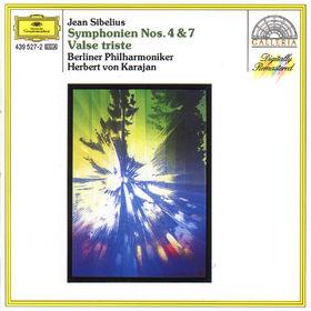 Die Berliner Philharmoniker, Sibelius: Symphonies Nos.4 & 7, Valse triste, 00028943952729