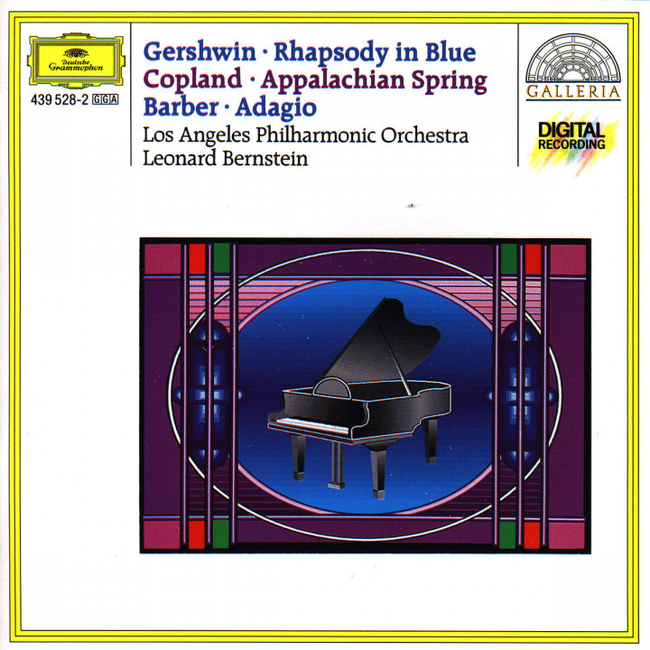 Gershwin: Rhapsody in Blue / Copland: Appalachian Spring / Barber: Adagio for Strings 0028943952826