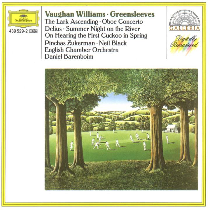 "Vaughan Williams: ""Greensleeves""; The Lark Ascending / Delius: Two Pieces; Two Aquarelles / Walton: 0028943952929"