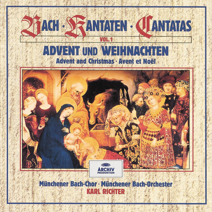 Bach, J.S.: Advent and Christmas (Vol. 1) 0028943936927