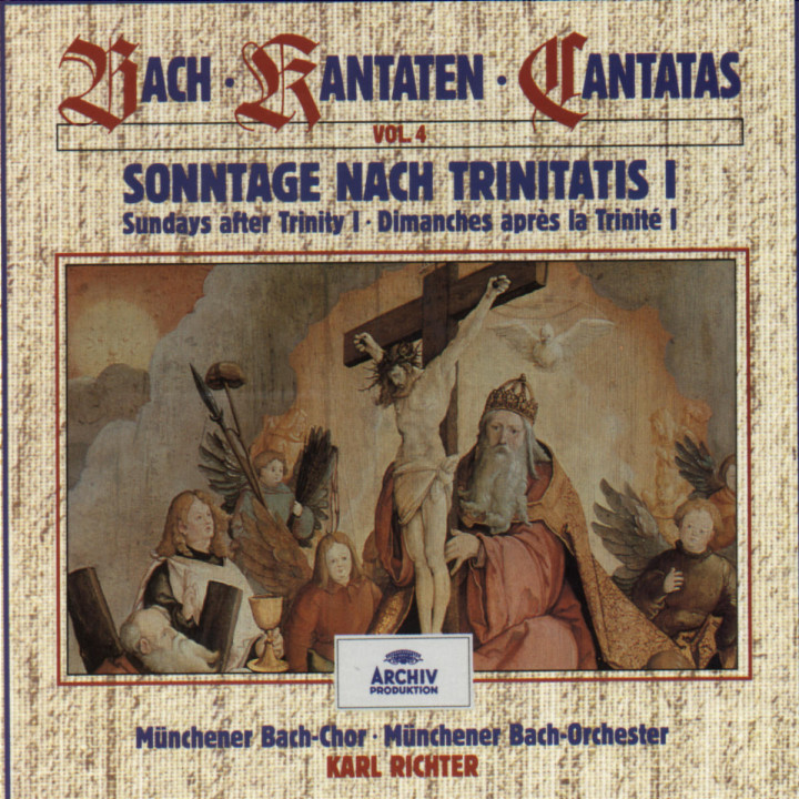 Bach, J.S.: Sundays after Trinity I (Vol. 4) 0028943938723