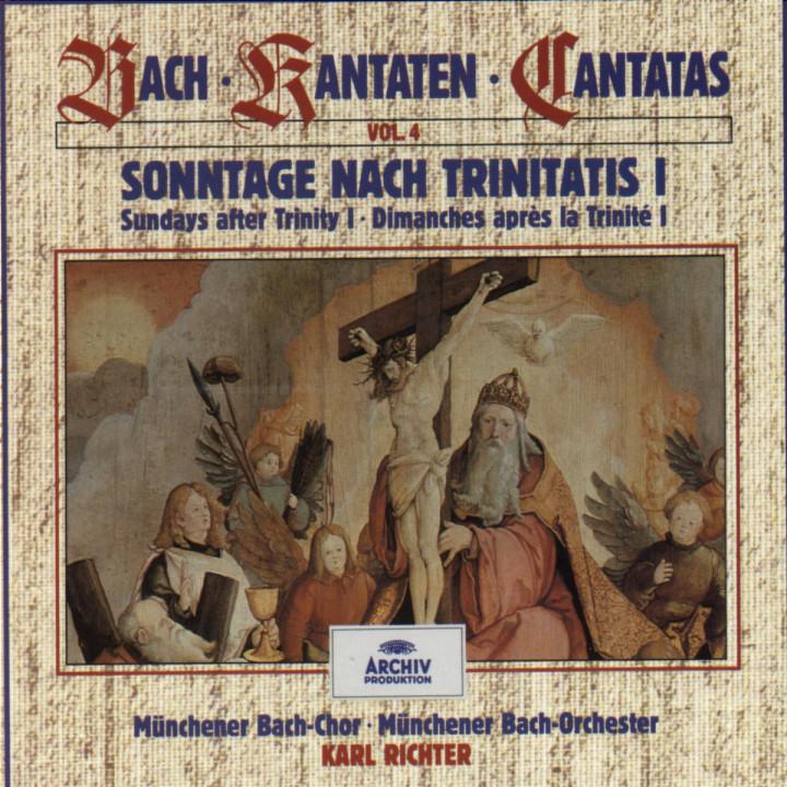 Bach, J.S.: Sundays after Trinity I (Vol. 4) 0028943938723