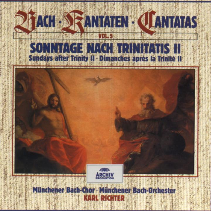 Bach, J.S.: Sundays after Trinity II (Vol. 5) 0028943939425