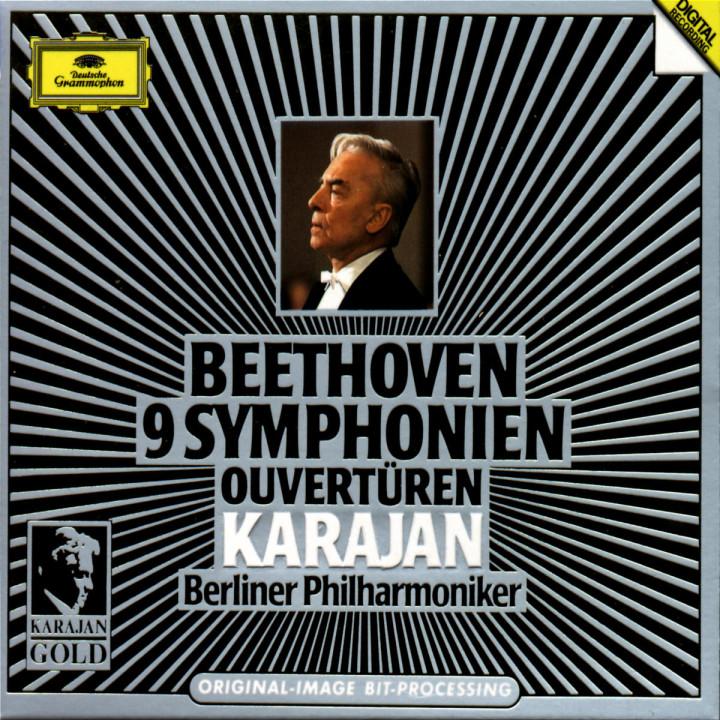 Beethoven: 9 Symphonies; Overtures 0028943920021