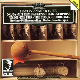 Herbert von Karajan, Sinfonien Nr. 94 mit dem Paukenschlag, Nr. 101 Die Uhr, 00028943903820
