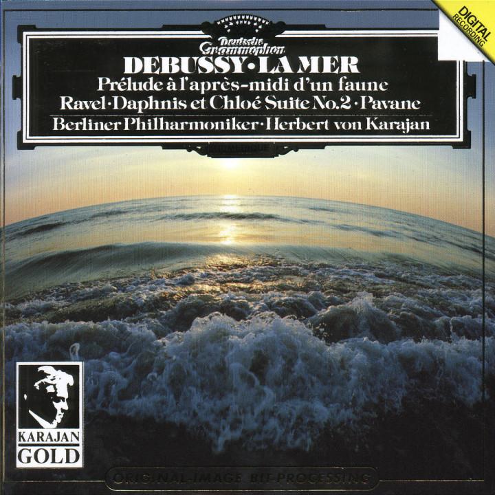 Debussy: La Mer; Prélude à l'après-midi / Ravel: Pavane; Daphnis et Chloé No.2 0028943900829