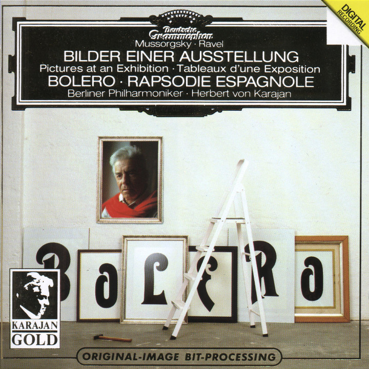 Ravel: Boléro, Rapsodie espagnole / Mussorgsky: Pictures at an Exhibition 0028943901325