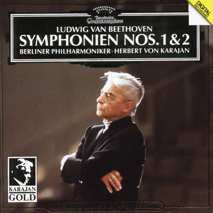 Beethoven: Symphonies Nos.1 & 2 0028943900128