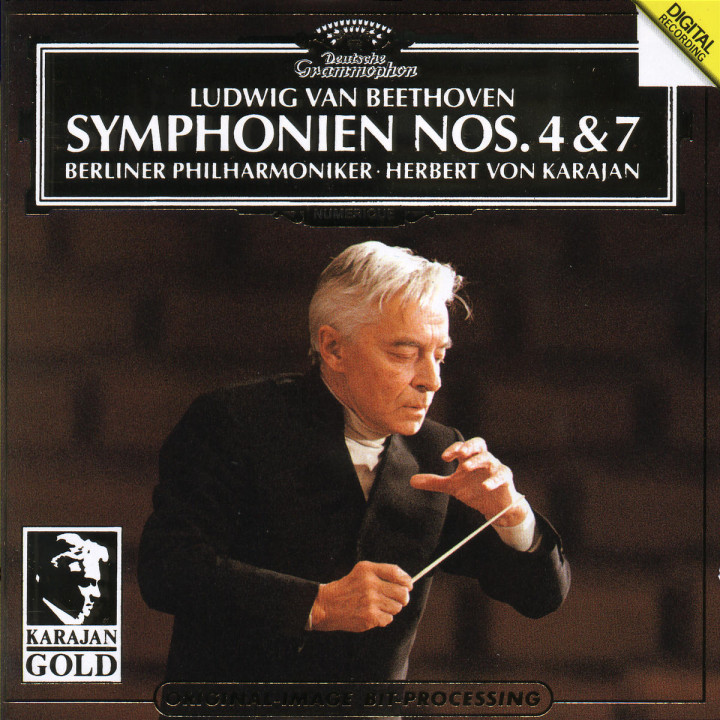 Beethoven: Symphonies Nos.4 & 7 0028943900324