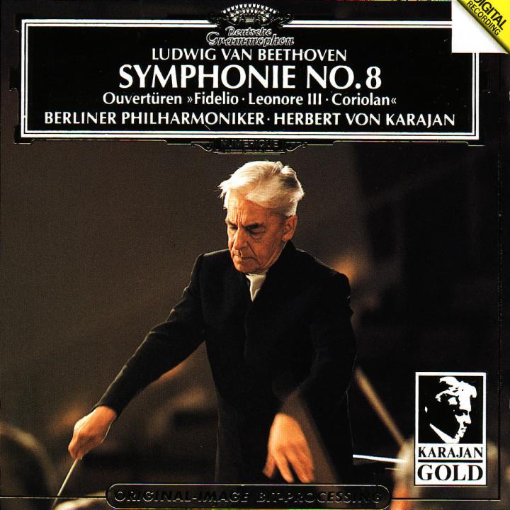 """Beethoven: Symphony No.8; Overtures: """"Coriolan"""", """"Fidelio"""", """"Leonore No.3"""" 0028943900520"""