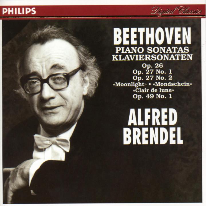"""Beethoven: Sonatas Op.26, Op.27 No.1, Op.27 No.2 """"Moonlight"""" & Op.49 No.1 0028943886323"""