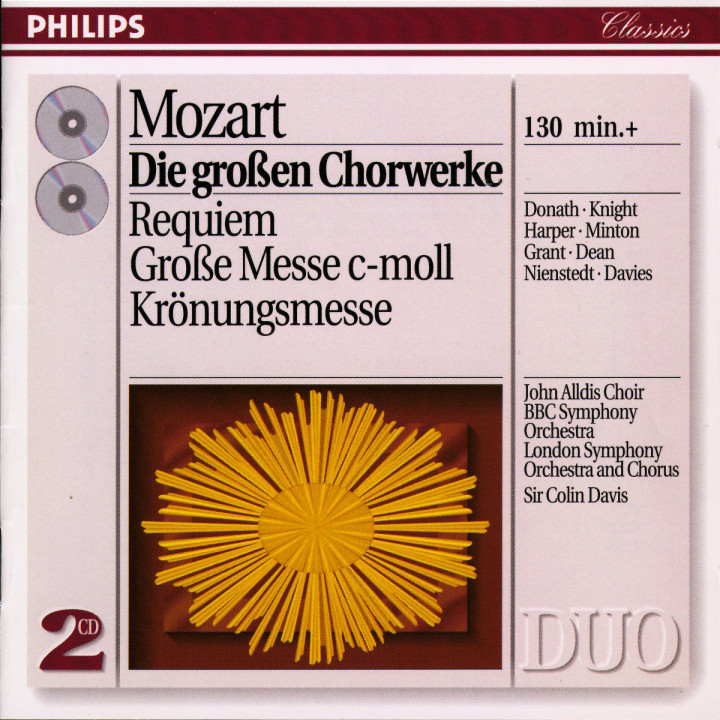 Mozart: Great Choral Works 0028943880028