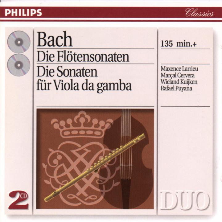 Die Flötensonaten; Die Sonaten für Viola da Gamba 0028943880925