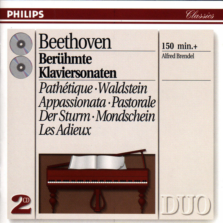 Beethoven: Favourite Piano Sonatas 0028943873028