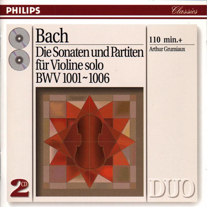 Bach, J.S.: Complete Sonatas & Partitas for Solo Violin 0028943873626