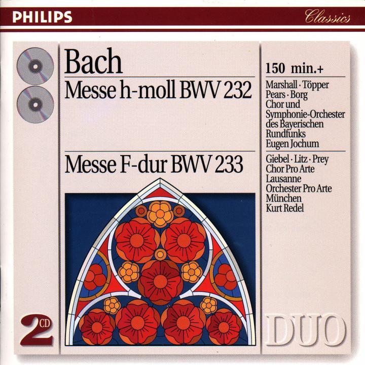 Messe h-moll BWV 233; Messe F-dur BWV 232 0028943873925