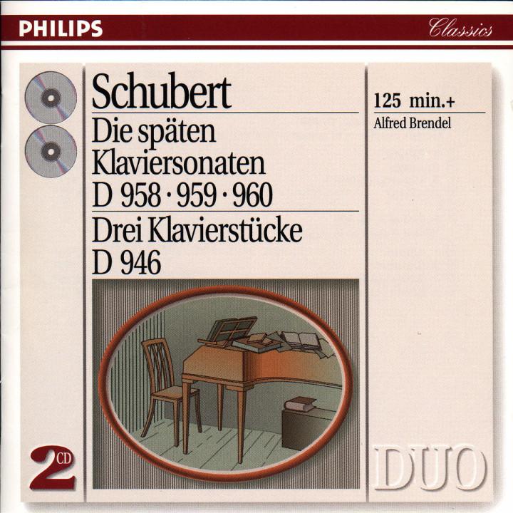Schubert: The Last Three Piano Sonatas 0028943870324