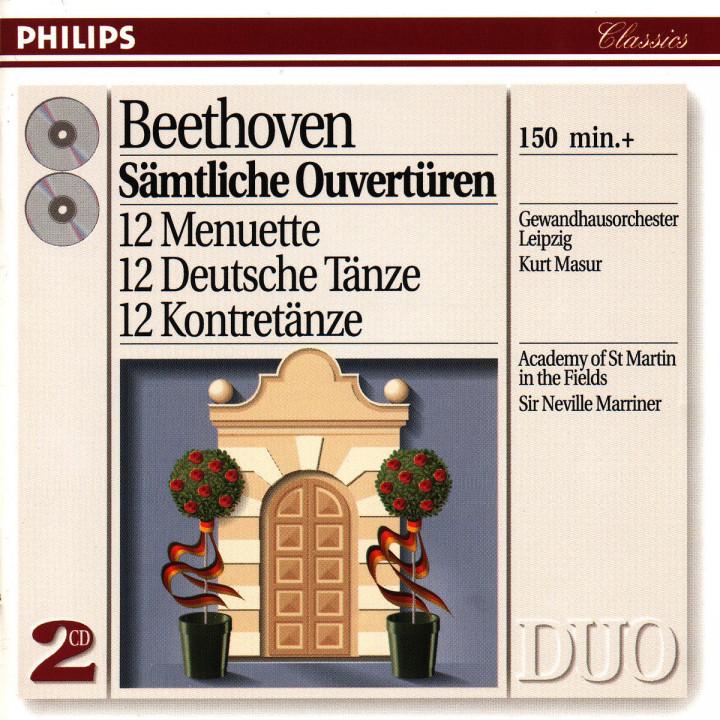 Beethoven: Complete Overtures/12 Minuets/12 German Dances etc. 0028943870623