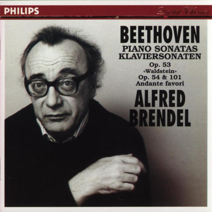 "Beethoven: Piano Sonatas Opp.53 ""Waldstein"", 54 & 101; Andante favori 0028943847229"