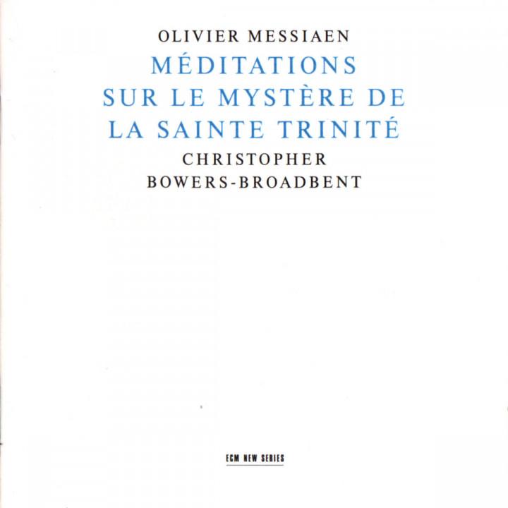 Méditations sur le mystère de la St. Trinité