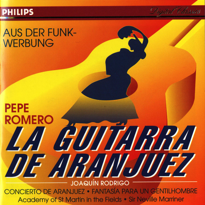 Rodrigo: Concierto de Aranjuez; Fantasía para un gentilhombre etc. 0028943801623