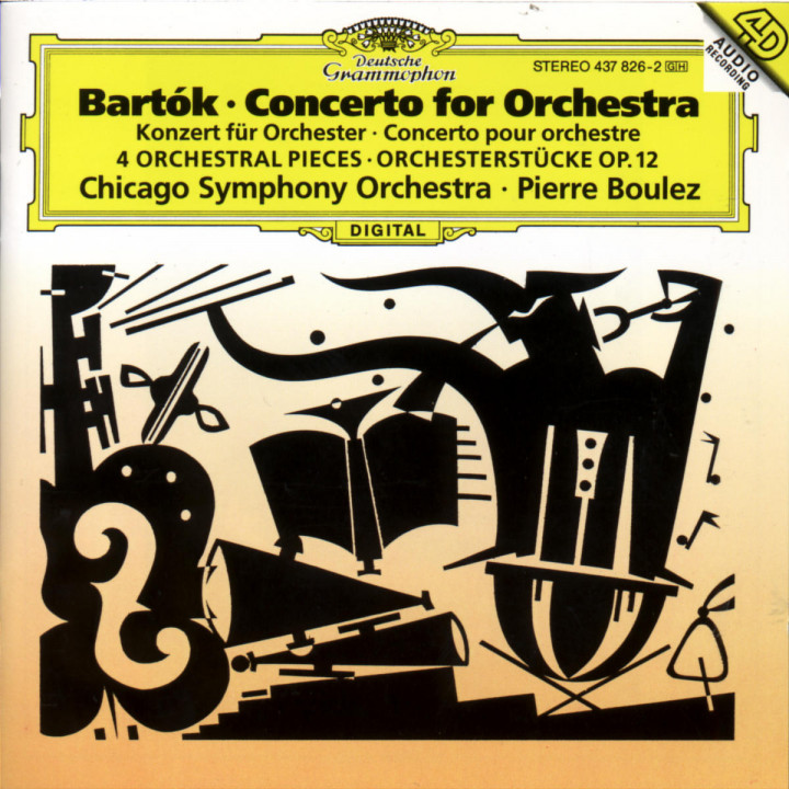 Bartók: Concerto for Orchestra; Orchestral Pieces 0028943782627