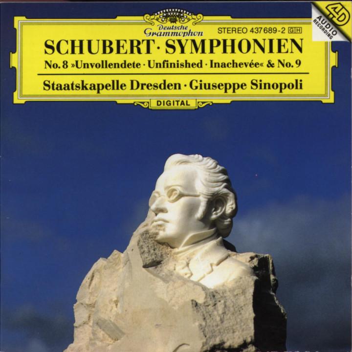 "Sinfonien Nr. 8 h-moll D 759 ""Die Unvollendete"" & Nr. 9 C-dur D 944 0028943768926"