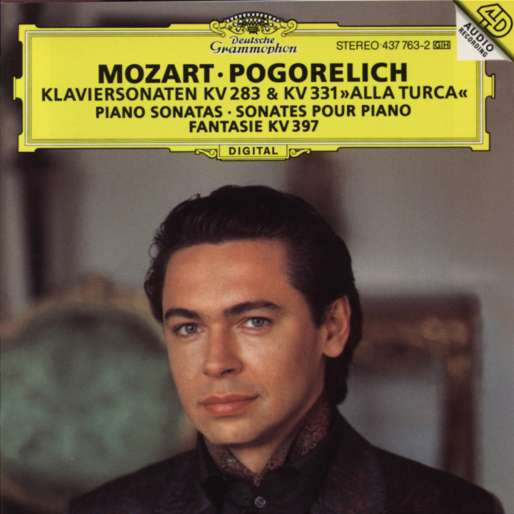 Mozart: Piano Sonatas K.283 & K.331; Fantasia K.397 0028943776329