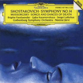 Dmitri Shostakovich, Sinfonie Nr. 14 g-moll op. 135; Lieder und Tänze des Todes Nr. 1-4, 00028943778527