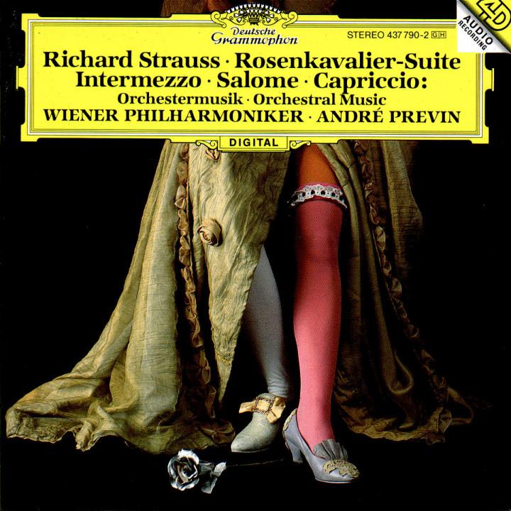 R. Strauss: Rosenkavalier-Suite; Intermezzo; Salome; Capriccio 0028943779023