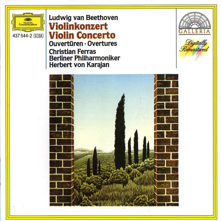 Beethoven: Violin Concerto; Overtures 0028943764427