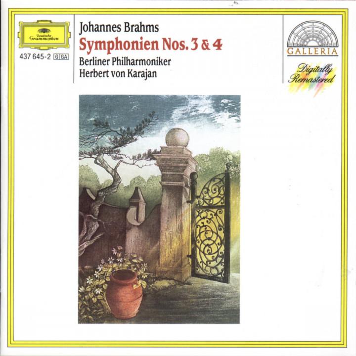 Brahms: Symphonies Nos.3 & 4 0028943764520