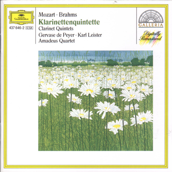Mozart: Clarinet Quintet K.581 0028943764623