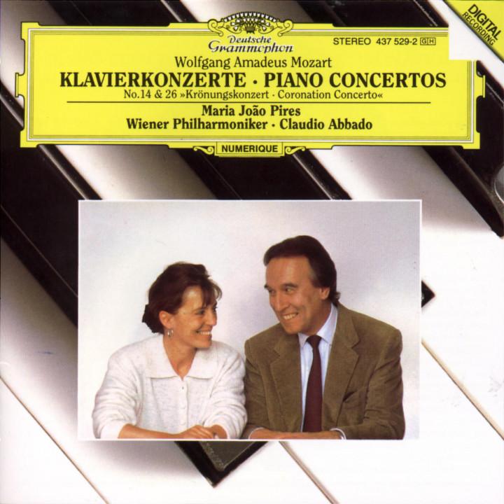 "Mozart: Piano Concertos Nos.14 & 26 ""Coronation"" 0028943752927"