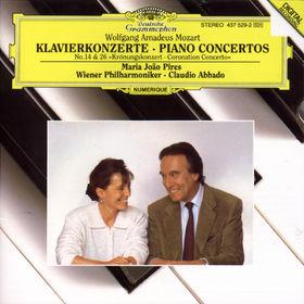 Wolfgang Amadeus Mozart, Mozart: Piano Concertos Nos.14 & 26 Coronation, 00028943752923