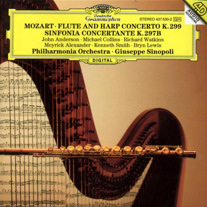 Mozart: Flute & Harp Concerto K.299; Sinfonia concertante K.297b 0028943753021
