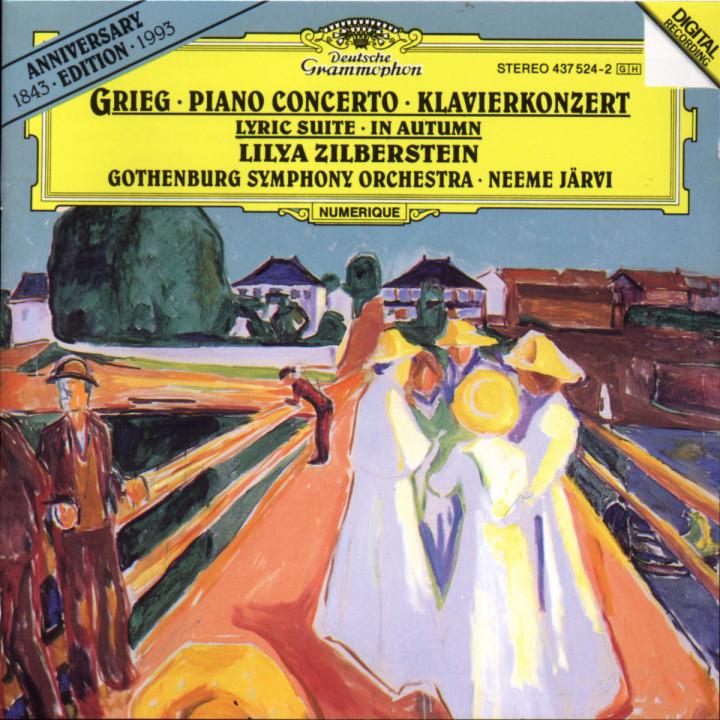 Klavierkonzert; Lyrische Suite; Im Herbst 0028943752422