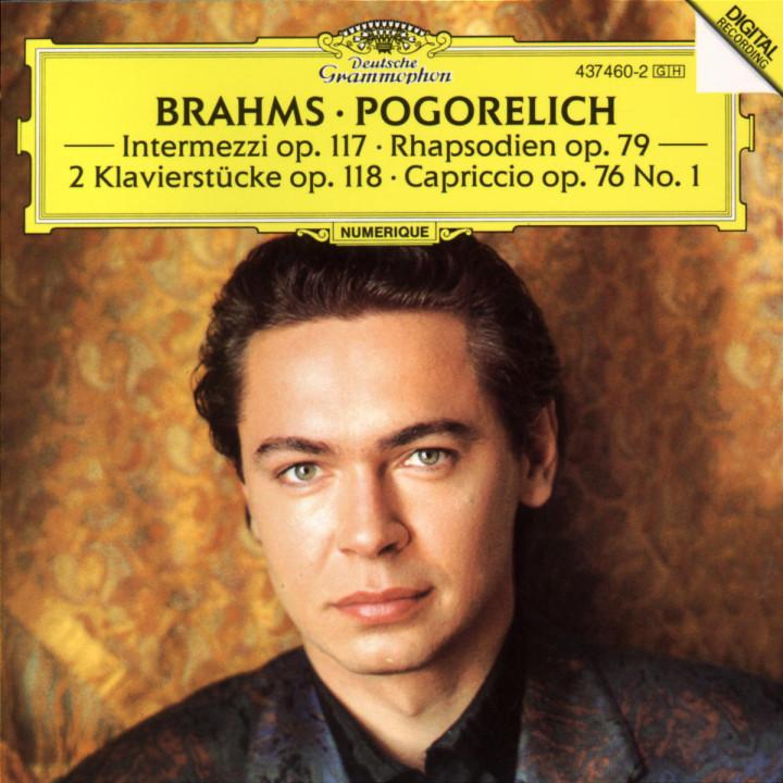 Brahms: Capriccio in F sharp minor Op.76 No.1 0028943746021